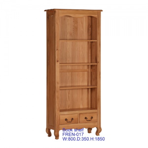 French-Oak-book-case